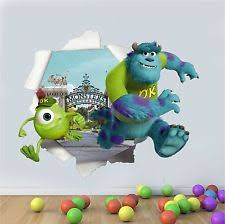 Monsters Inc Wall Stickers