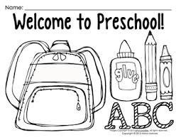 preschool coloring pages school impressive back to school coloring pages for preschool printable for