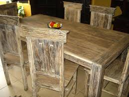 Dining Chairs Rustic Terrific Rustic Teak Dining Table X Leg Closeup View Outd With