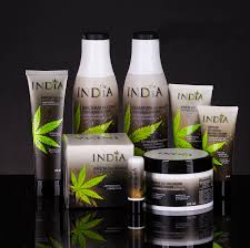 super gift set box full of cannabis cosmetics by india cosmetics