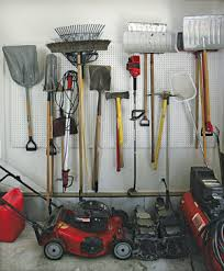 Organizing Garden Tools In Garage - getting the most out of your garage in winter weather the