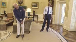 mini golf bureau bill murray lamine barack obama au mini golf à la maison blanche