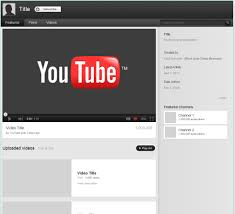 Youtube Best Resume by New Youtube 2012 Background Layout Template By Eriqueshop On