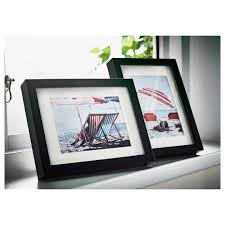 frames pictures wall photo ikea virserum frame dark brown picture