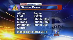 nissan altima 2013 issues nissan recalls 3 18 million vehicles in us because of airbag issue