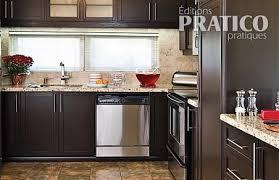 cuisine brun dosseret cuisine brun image sur le design maison