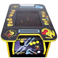 Pacman Game Table by Pac Man Arcade Machine 400 Retro Games Free Shipping 2 Yr