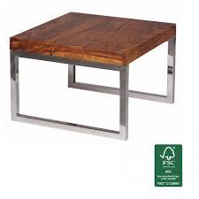Wohnzimmertisch Natur Finebuy Beistelltisch Massiv Holz Sheesham Wohnzimmer Tisch