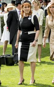 not her best look sarah ferguson the duchess of york at ascot