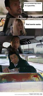 Car Girl Meme - have you watched pulp fiction the meta picture