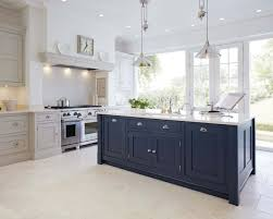 paint kitchen cabinets uk blue painted kitchen tom howley
