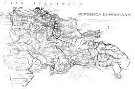 Blank Map Of Dominican Republic by Free Dominican Republic States Outline Map Black And White Black