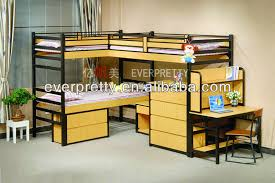 Bunk Beds With Three BedsWooden Double Bed With DrawersKids - Three bed bunk bed