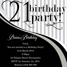 21st birthday party invitations from impressive invitations