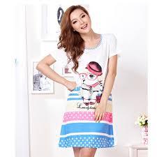 funny dog pajamas for girls short sleeve nightdress buytra com