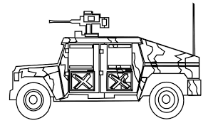 army coloring pages free jeep coloring pages to print