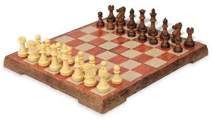 travel chess set images Rosewood color folding magnetic travel chess set 14 quot the chess jpg