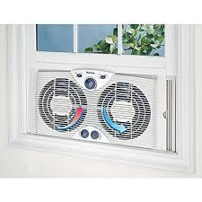 twin window fan lowes amazon com holmes hawf2041 n twin window fan with comfort control