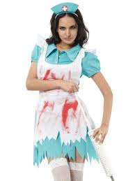 nurse costume doctor ladies fancy dress costume for halloween