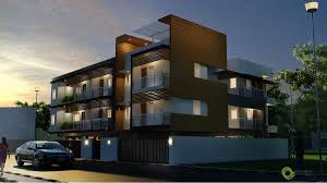 apartment architecture in karapakkam chennai architects