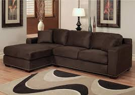 Brown Sectional Sofas Modern Concept Chocolate Brown Sectional Sofa With Monarch