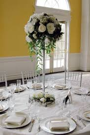 Tower Vase Centerpieces Flowers Inlove062709