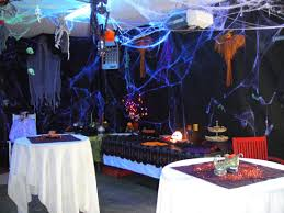 Extreme Outdoor Halloween Decorations by The Neat Retreat Taking Halloween To The Extreme Black Tarp