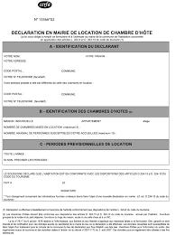 location d une chambre déclaration en mairie de location de chambre d hôte le mémento d