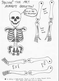 free downloadable halloween music halloween skeleton free printable u2013 the art academy portsmouth