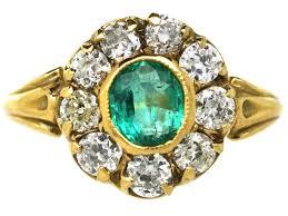 vintage emerald engagement rings antique engagement rings vintage engagement rings the antique