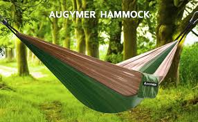 amazon com augymer camping hammock double portable lightweight 2