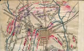 Treasure Maps Sneden U0027s Treasure Maps Of Gettysburg Before We Go American