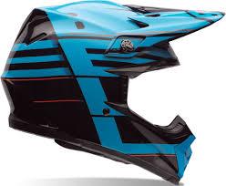 top motocross helmets bell moto 9 flex blocked motocross helmet blue helmets unisex