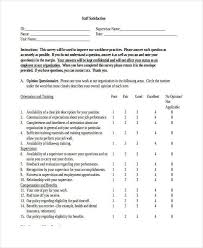 orientation feedback form writing effective comments 3 26 360