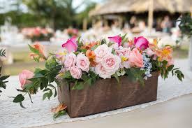 wedding floral arrangements fabulous colorful wedding flower arrangements in wooden