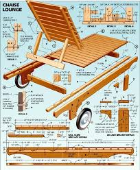 Woodworking Furniture Plans Pdf by Chaise Lounge Plans To Build To Building U2013 Wood Plans For