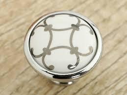 Porcelain Knobs For Kitchen Cabinets 4 50 Dresser Knobs Drawer Knobs Pulls Handles Ceramic Knobs