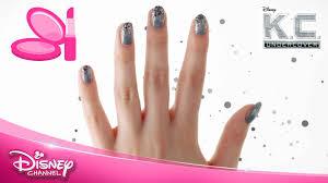k c undercover nail art tutorial k c official disney