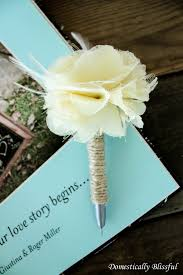 guest book and pen set wedding ideas wedding ideas guest bookith pen ivory 50th