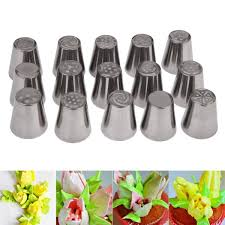 flower decorating tips 15pcs flower piping set bubblespree