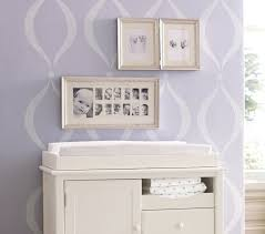 Silver Leaf Nightstand Silver Leaf First Year Frame Pottery Barn Kids