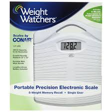 Weight Watchers Bathroom Scale Battery Weight Watchers By Conair Precision Electronic Scale Meijer Com