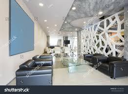 modern luxury hotel lobby interior stock photo 416136535