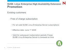 save the date sles building high availability clusters with suse linux enterprise high a