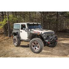 armored jeep wrangler unlimited rugged ridge 11615 05 xhd armor fenders and liner kit 2 door 07