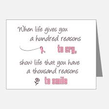 cancer cards breast cancer thank you cards breast cancer note cards cafepress