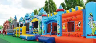 capannoni gonfiabili come realizzare parchi gioco gonfiabili per bambini