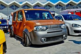 honda cube nissan cube in rat look
