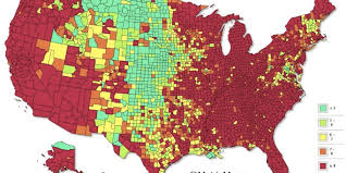 Crime Rate Map 24 Years Of Americas Unemployment Rate In 10 Seconds Huffpost