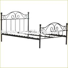 double metal bed frame u2013 bare look